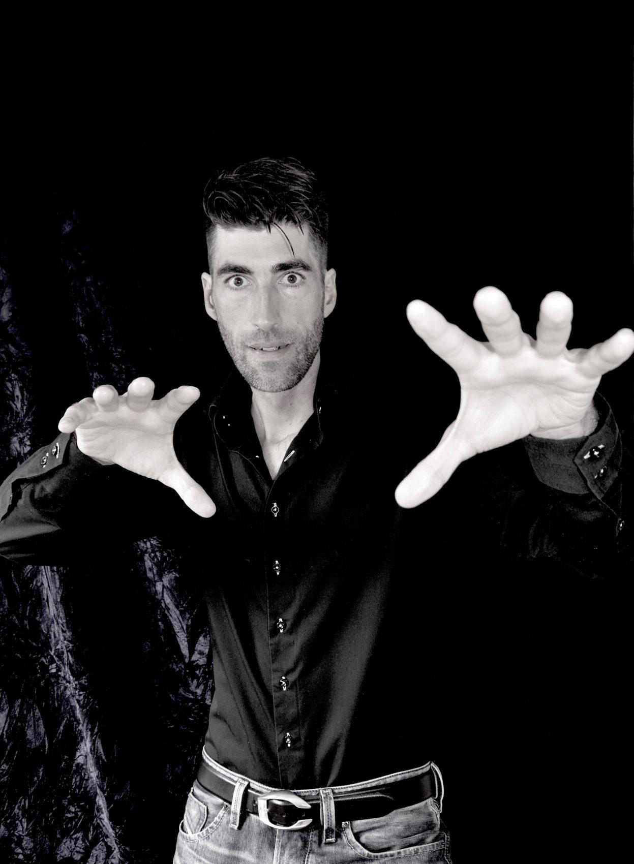 Mentalmagier l'enchanteur Raphaël Wolf
